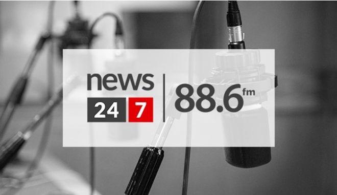 """Ο Γιάννης Κακλέας και ο Χρήστος Νικολόπουλος στην εκπομπή""""Πεζοί Στον Αέρα"""""""