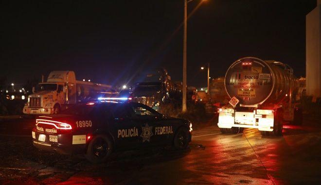 Περιπολικό της ομοσπονδιακής αστυνομίας του Μεξικού