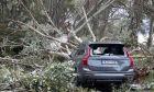 Μεγάλες καταστροφές από τη φονική κακοκαιρία στη Χαλκιδική
