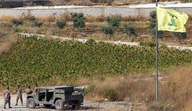 Λιβανέζοι στρατιώτες κοντά στα σύνορα με το Ισραήλ