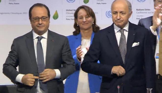 Το σχέδιο για τη μείωση της υπερθέρμανσης κατά 2 βαθμούς Κελσίου παρουσιάστηκε στο Παρίσι