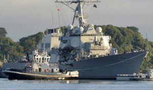 ΗΠΑ: Βαριά 'καμπάνα' στο Πολεμικό Ναυτικό για τη σύγκρουση αντιτορπιλικού με ιαπωνικό φορτηγό