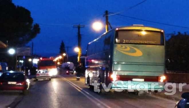 Τροχαίο στο Λιανοκλάδι: ΙΧ καρφώθηκε σε μάντρα σπιτιού