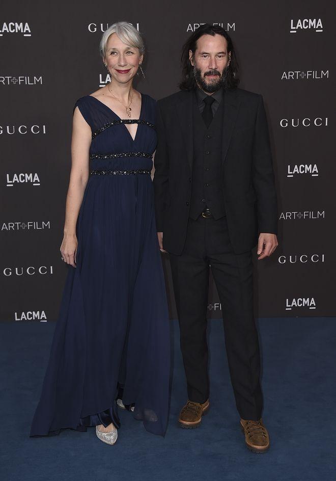 Ο Keanu Reeves και η νέα του σύντροφος Alexandra Grant