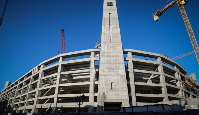 Το γήπεδο της ΑΕΚ στη Νέα Φιλαδέλφεια