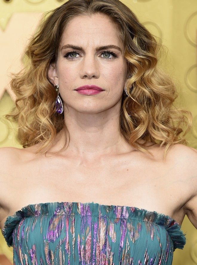 Anna Chlumsky arrives at the 71st Primetime Emmy Awards on Sunday, Sept. 22, 2019, at the Microsoft Theater in Los Angeles. (Photo by Jordan Strauss/Invision/AP)