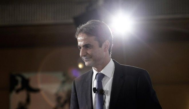 Main pre electoral speech of Kyriakos MItsotakis for the leadership of the New Democracy Party, in Athens , on Nov. 20, 2015 /            ,  ,  20 , 2015