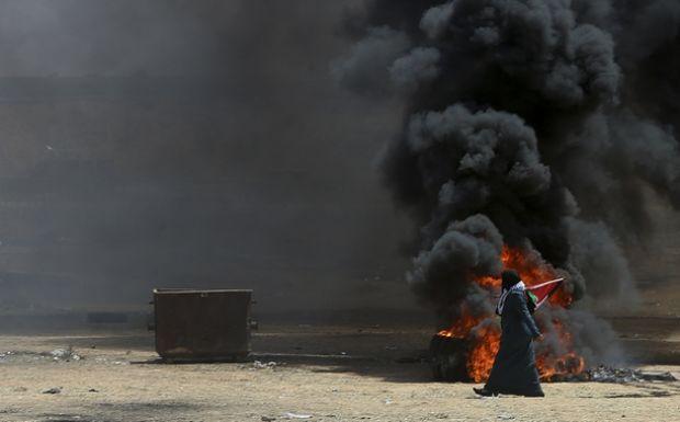 Ένταση στην Λωρίδα της Γάζας με αφορμή την λειτουργία της πρεσβείας των ΗΠΑ στην Ιερουσαλήμ