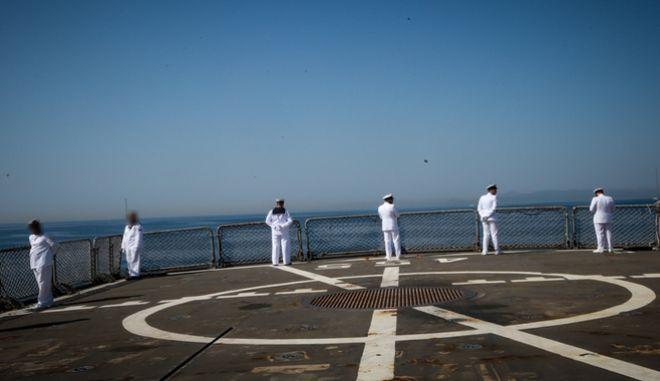 Στελέχη του Πολεμικού Ναυτικού - Φωτό αρχείου
