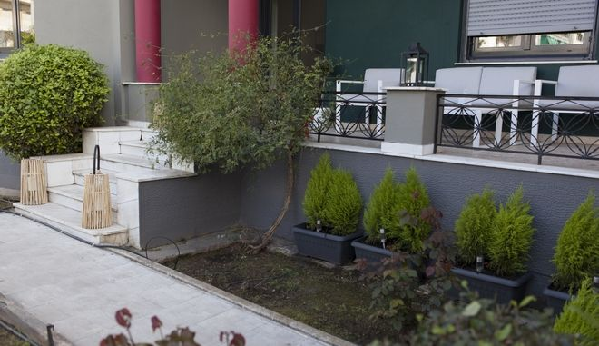Γενική άποψη από τον κήπο του σπιτιού της 24Media