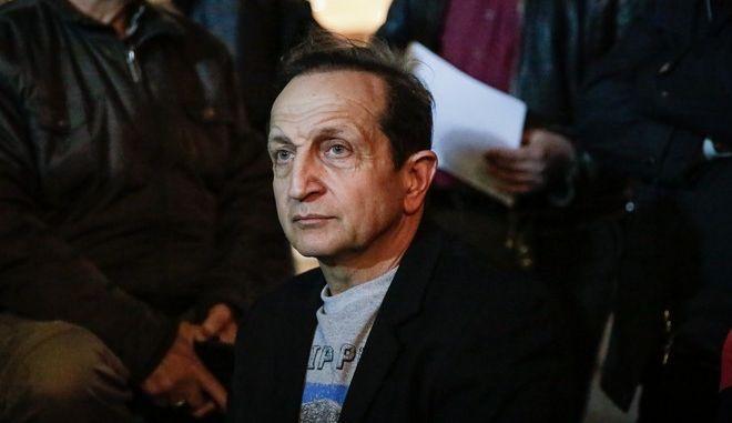Ο ηθοποιός Σπύρος Μπιμπίλας