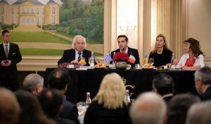 Κάλεσμα Τσίπρα για επενδύσεις σε εκπροσώπους επιχειρηματικών κολοσσών
