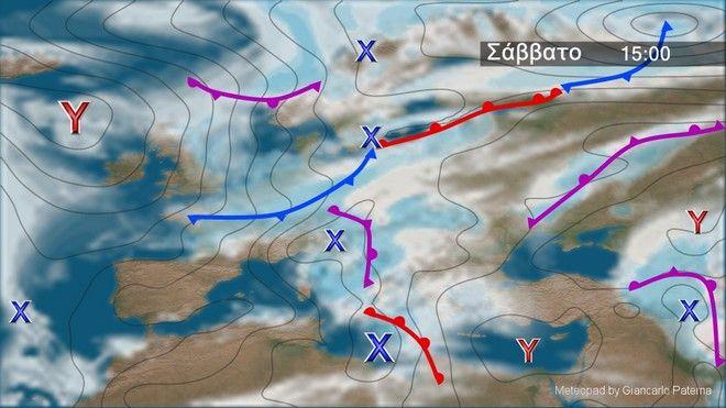 Επιδείνωση του καιρού από τα δυτικά το Σάββατο – Θυελλώδεις νοτιάδες στο Ιόνιο