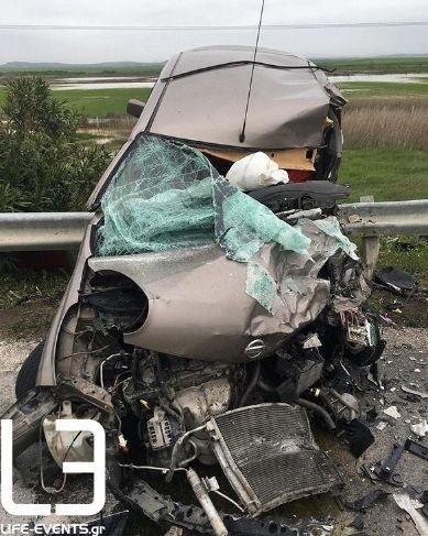 Τρεις νεκροί και τέσσερις τραυματίες σε τροχαίο έξω απ' το Κιλκίς