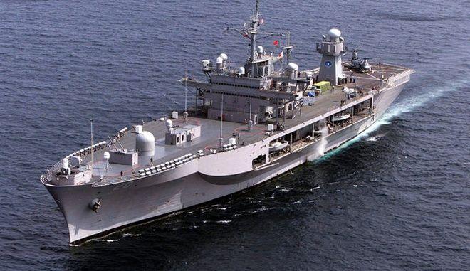 Το USS Mout Whitney