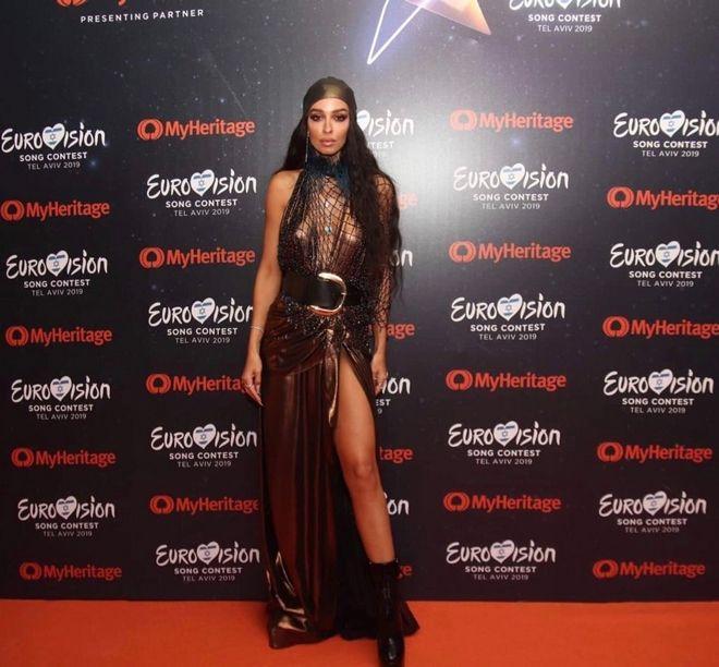 Η Ελένη Φουρέιρα στο open ceremony της Eurovision στο Τελ Αβίβ
