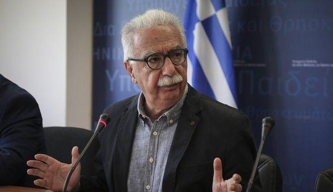 O υπουργός Παιδείας, Κώστας Γαβρόγλου