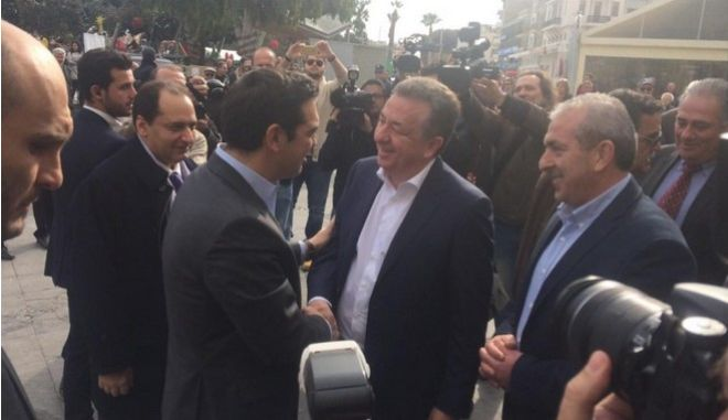 Τσίπρας: Θα δρομολογήσουμε μεγάλα έργα στην Κρήτη