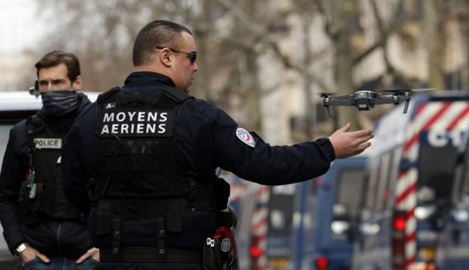 Αστυνομικές δυνάμεις στην Γαλλία