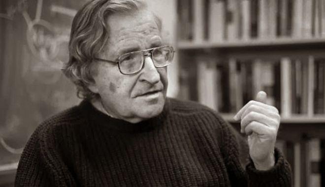 O Ν. Τσόμσκι στο DiEM25 του Γιάνη Βαρουφάκη