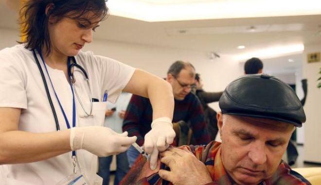 Εμβολιασμός στη Ρουμανία