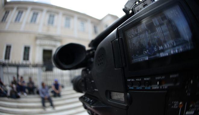 Διάσκεψη της διευρυμένης Ολομέλειας του Συμβουλίου της Επικρατείας, που καλείται να αποφασίσει για τη συνταγματικότητα ή μη του νομοθετικού πλαισίου αναφορικά με τον διαγωνισμό των τηλεοπτικών αδειών, μετά τη διακοπή της πρώτης διάσκεψης, την Τετάρτη 12 Οκτωβρίου 2016. (EUROKINISSI/ΓΙΑΝΝΗΣ ΠΑΝΑΓΟΠΟΥΛΟΣ)