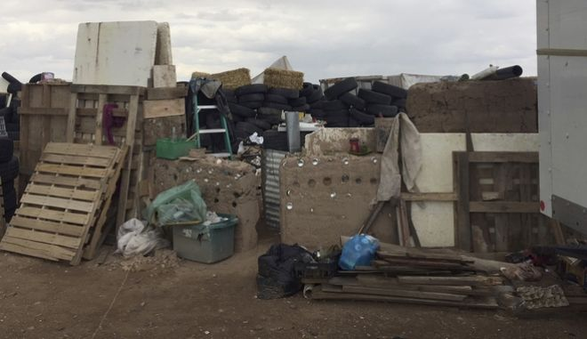 To παράπηγμα όπου κρατούνταν 11 παιδιά στην έρημο του Νέου Μεξικού