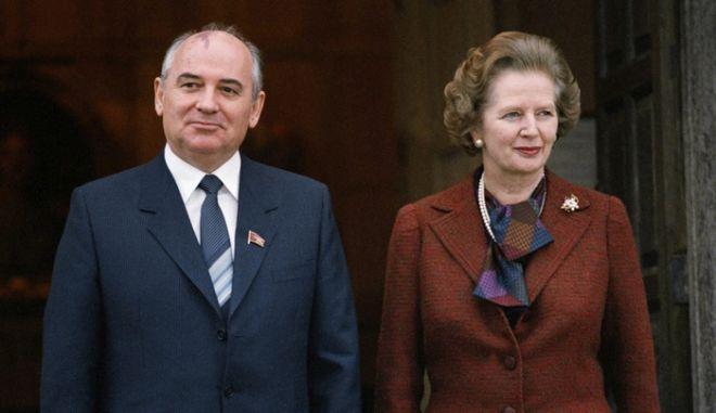 Όταν ο Γκορμπατσόφ γοήτευσε τη Θάτσερ