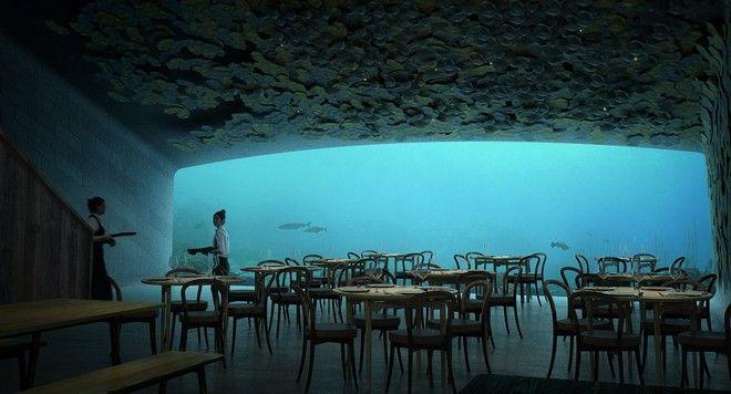 Το πρώτο υποβρύχιο εστιατόριο της Ευρώπης