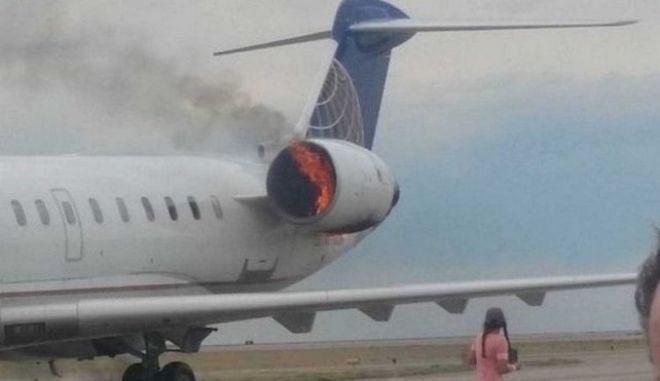 """Ηράκλειο: Συναγερμός στο αεροδρόμιο """"Ν. Καζαντζάκης"""" από φωτιά σε κινητήρα αεροπλάνου"""