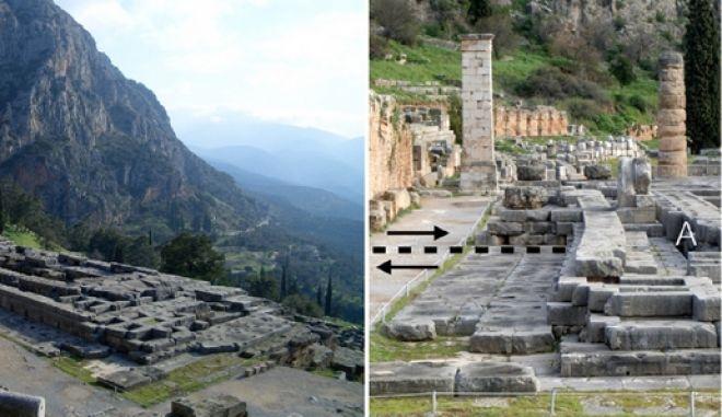 Έρευνα: Οι αρχαίοι Έλληνες έχτιζαν σκοπίμως ναούς στις περιοχές των σεισμικών ρηγμάτων