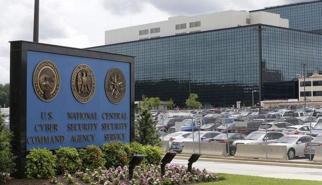 FILE - In this June 6, 2013 file photo, the National Security Agency (NSA) campus in Fort Meade, Md. The top U.S. counterintelligence official says secret government data is vulnerable to thieves, such as the NSA insider who is accused of working undetected for 20 years stealing a large trove of classified material, even as he defended the security controls put in place after the Edward Snowden theft.   (AP Photo/Patrick Semansky, File)