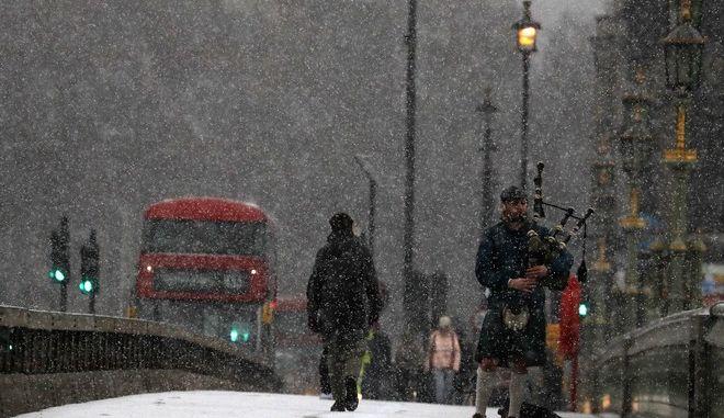Πολικές θερμοκρασίες στη Βρετανία