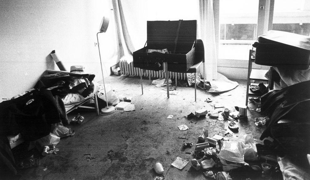 Το διαμέρισμα 1 στο κτίριο του Ολυμπιακού Χωριού, εκεί όπου οι τρομοκράτες κράτησαν ομήρους τους 9 Ισραηλινούς (6/9/1972).