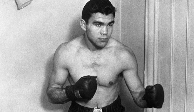 A portrait of German boxer Max Schmeling around March 18, 1930. (AP Photo)