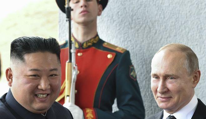 Συνάντηση Κιμ Γιονκ Ουν- Πούτιν, 24 Απριλίου 2019