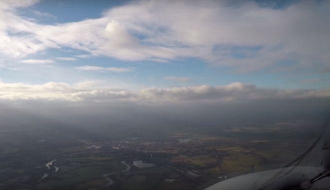 Χίθροου - Σαν Φρανσίσκο σε 4 λεπτά: Εκπληκτικό βίντεο timelapse από το πιλοτήριο ενός Airbus