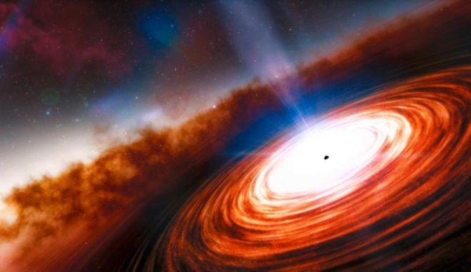 Διάστημα: Πώς μοιάζει μια μαύρη τρύπα 55 εκατομμύρια έτη φωτός μακριά από την Γη
