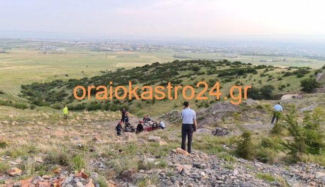 Πτώση του ΙΧ του 67χρονου άνδρα στο Ωραιόκαστρο