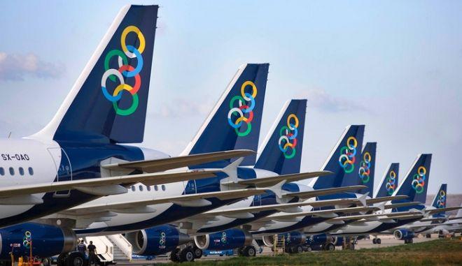 Η Ολυμπιακή κόβει τις πτήσεις από Αθήνα προς Ηράκλειο, Θεσσαλονίκη και Ρόδο...