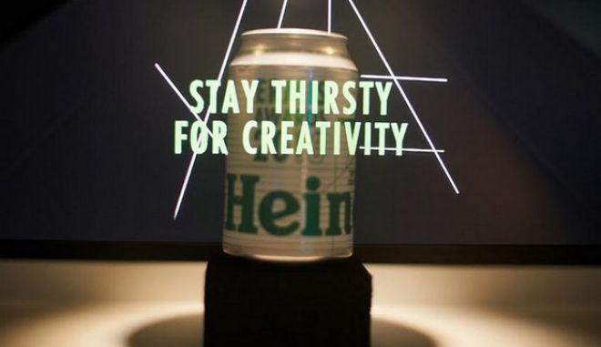 Heineken: Η μπίρα που διψά για δημιουργικότητα, πρωταγωνίστησε στα φετινά Ermis Awards