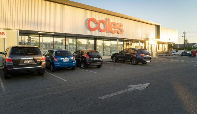 Κατάστημα της αλυσίδας σούπερ μάρκετ Coles στην Αυστραλία