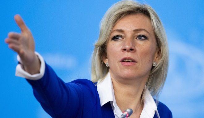 Η Μαρία Ζαχάροβα