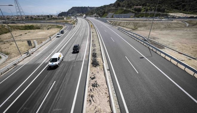 Opening ceremony of the new National Road of Corinth-Patras  in the presence of Greek Prime Minister Alexis Tsipras, in Patras, on April 11, 2017 /      -  ,  ,  11 , 2017
