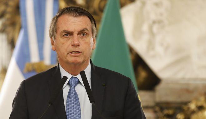 Ο πρόεδρος της Βραζιλίας Ζαΐχ Μπολσονάρο
