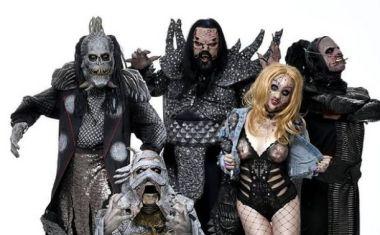 Το φινλανδικόheavy metal συγκρότημα Lordi