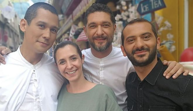 Η Ελιάννα Ιωαννίδη με τους κριτές του MasterChef