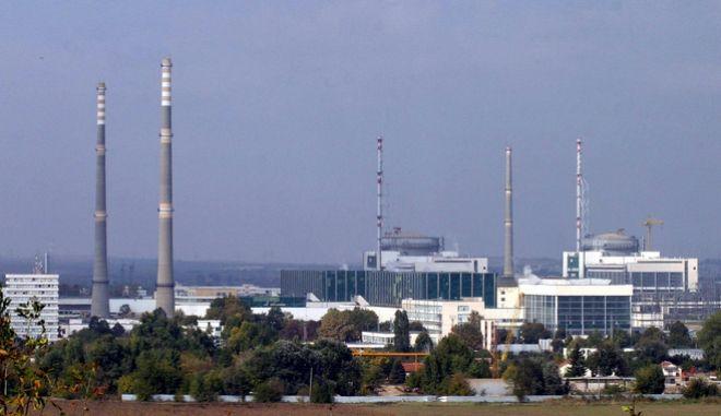 To πυρηνικό εργοστάσιο. Φωτογραφία αρχείου.
