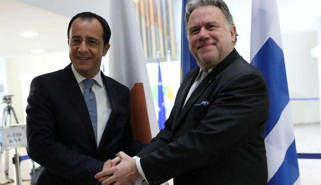 Επίσκεψη του υπουργού Εξωτερικών Γιώργου Κατρούγκαλου στην Κύπρο