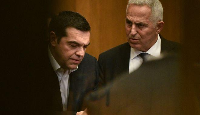 Ευάγγελος Αποστολάκης - Αλέξης Τσίπρας